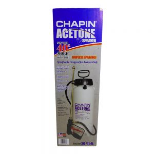 Acetone Sprayer 3G/11.4L