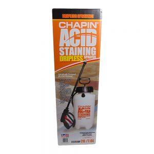 Dripless Acid Staining Sprayer 2G/7.6L