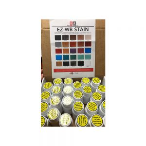 EZ Waterbase Stain Sample Kit