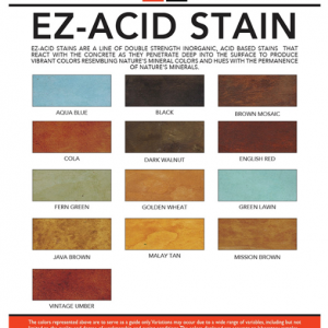 EZ Acid Stain- 1 Gallon