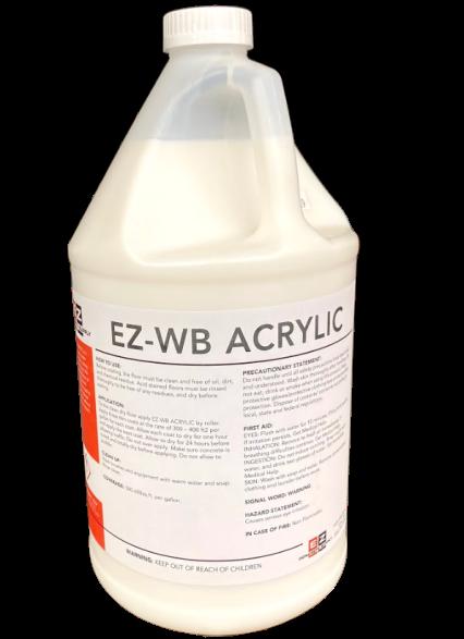 water based acrylic sealer