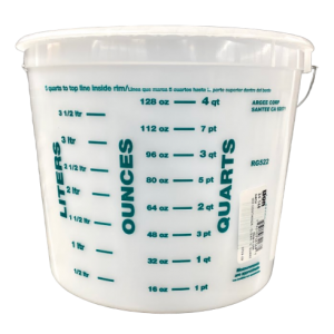 5 Quart Mic & Measure