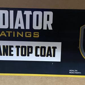 Gladiator Urethane Top Coat (3 Gal)